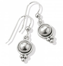 Brighton Pretty Tough Stud French Wire Earrings