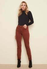 - Ginger Frayed Hem Skinny Jean