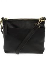 Black Layla Top Zip Crossbody Bag
