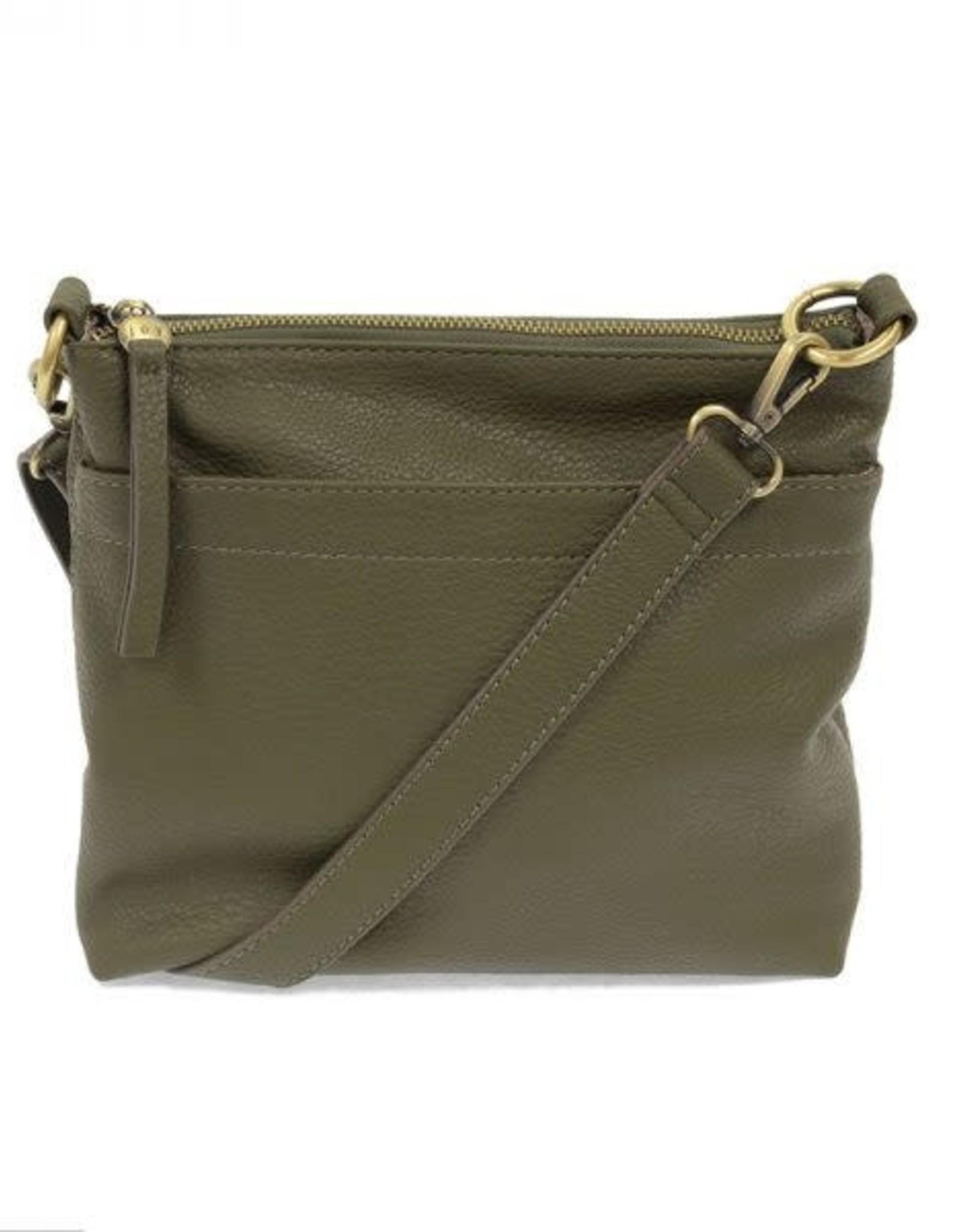 Olive Layla Top Zip Crossbody Bag