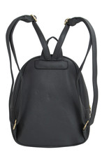 Dark Gray Fashion Backpack with Front Flip Pocket
