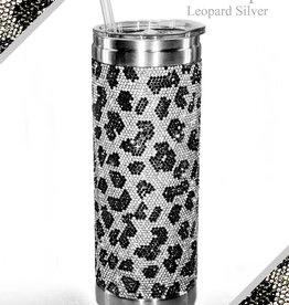 - Snow Leopard Bubbles & Bling Tumbler