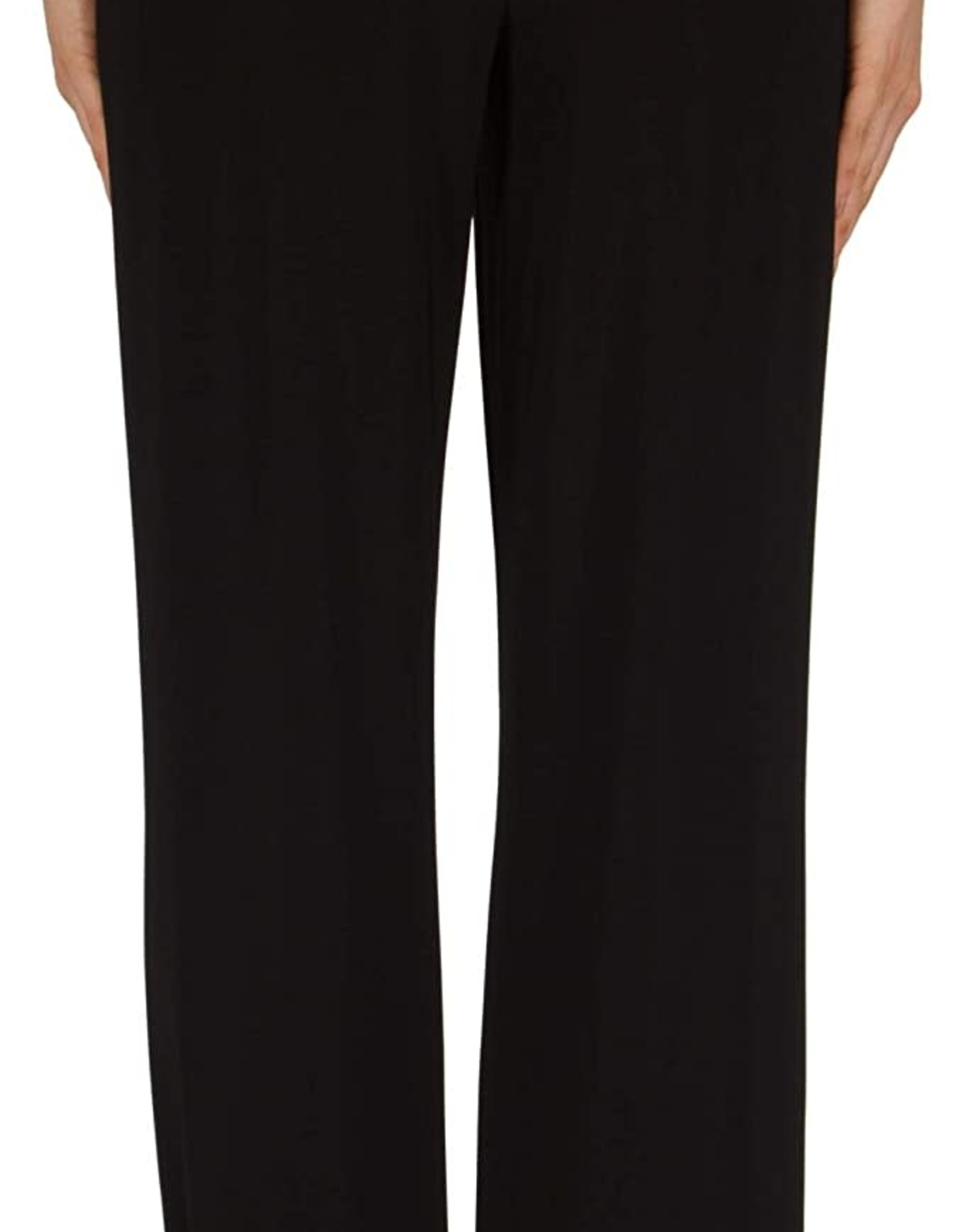 Joseph Ribkoff Black Pull-On Straight Leg Pant w/Pockets