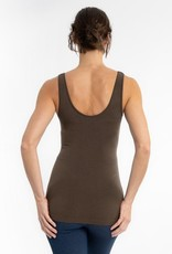 - Olive RELAXED Reversible Neckline Tank
