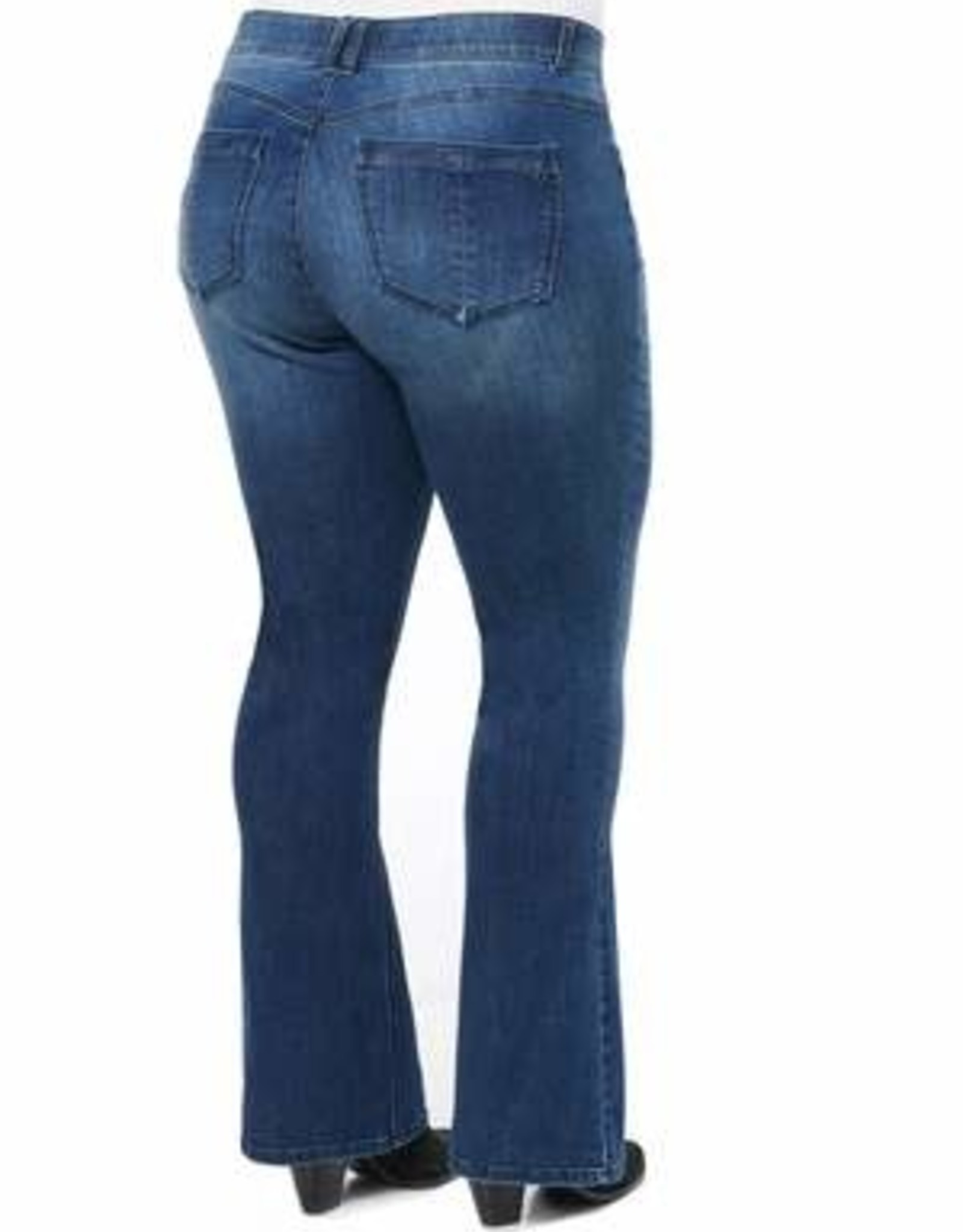 Democracy Medium Wash  Boot Cut Plus Jeans