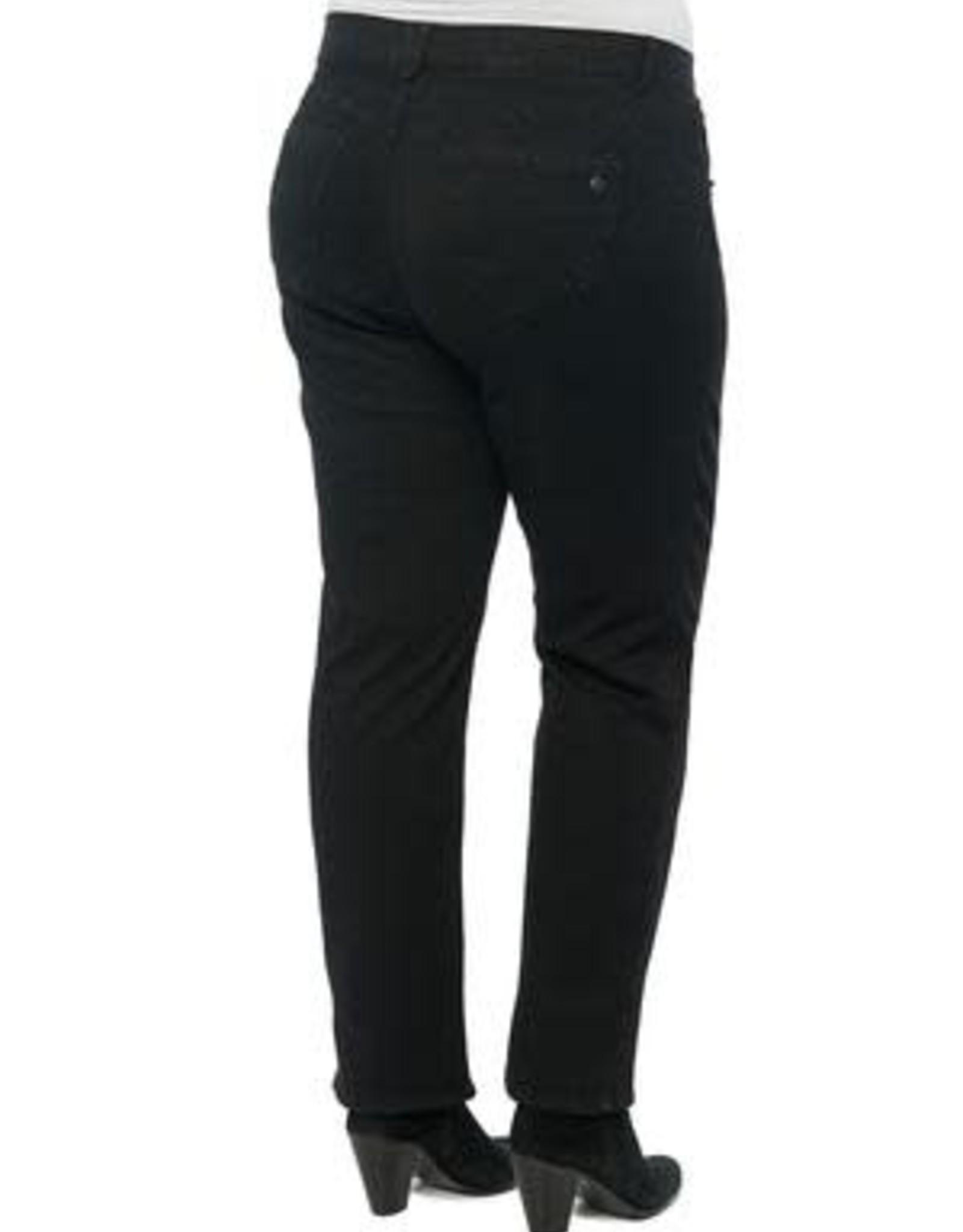 Democracy Black Straight Leg Plus Jeans