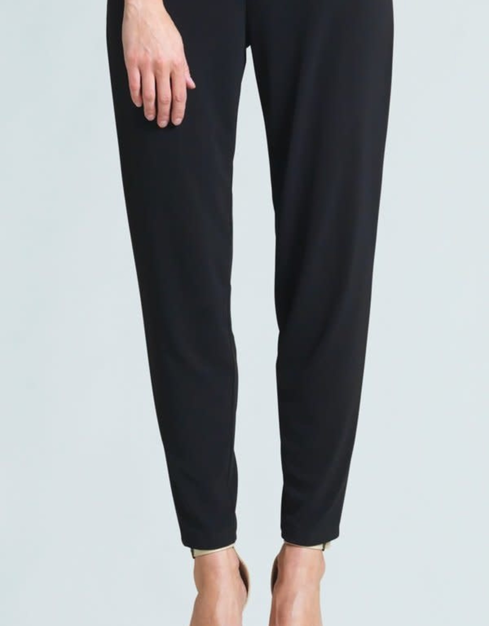 - Black Narrow Hem Loose Pant w/Pockets