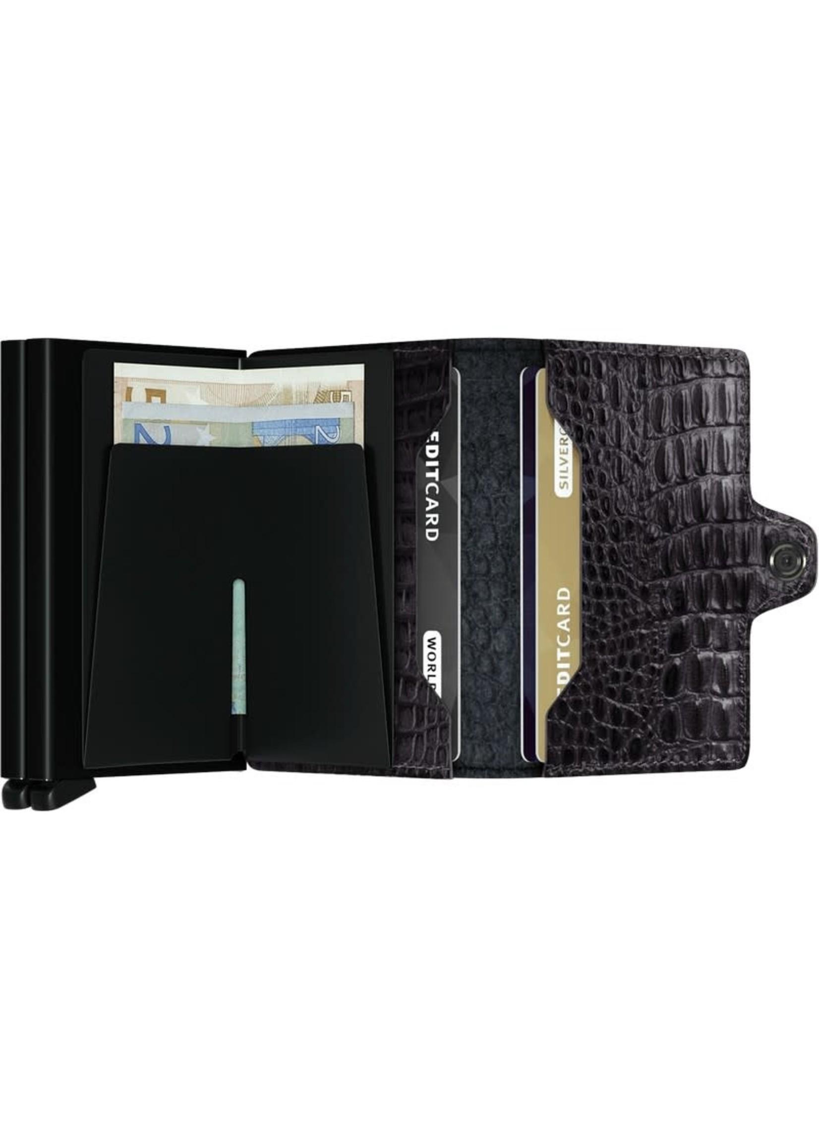 Secrid Wallets Secrid Wallet Croc Black