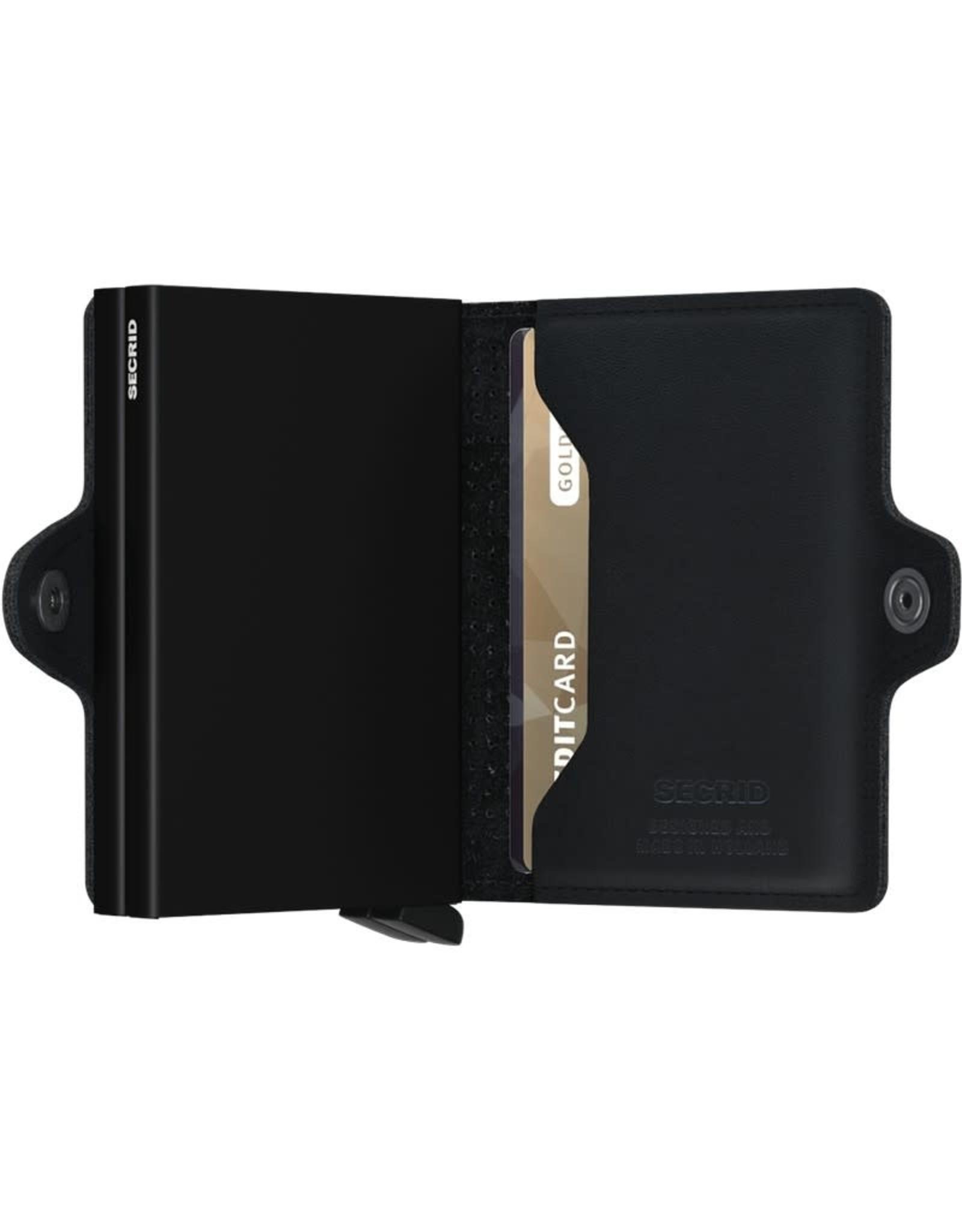 Secrid Wallets Secrid Twin Wallet  Black