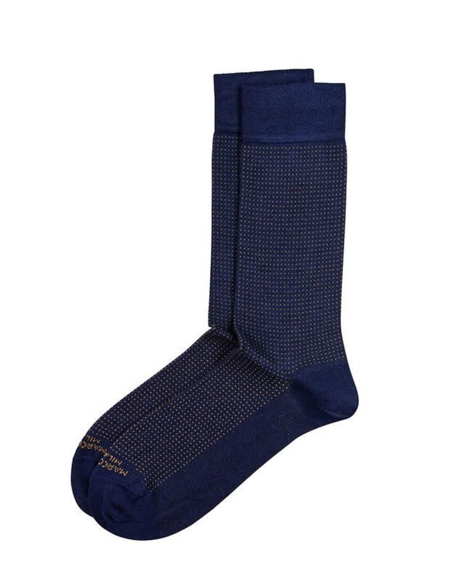 Marcoliani Marcoliani Hi-Class Socks Micro Pin Dot
