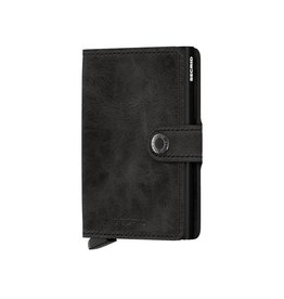 Secrid Wallets Secrid Miniwallet Vintage Black