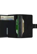 Secrid Wallets Secrid Miniwallet Stitch Linea Black