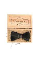 7 Downie St. 7 Downie St. Feather Bow Tie Black