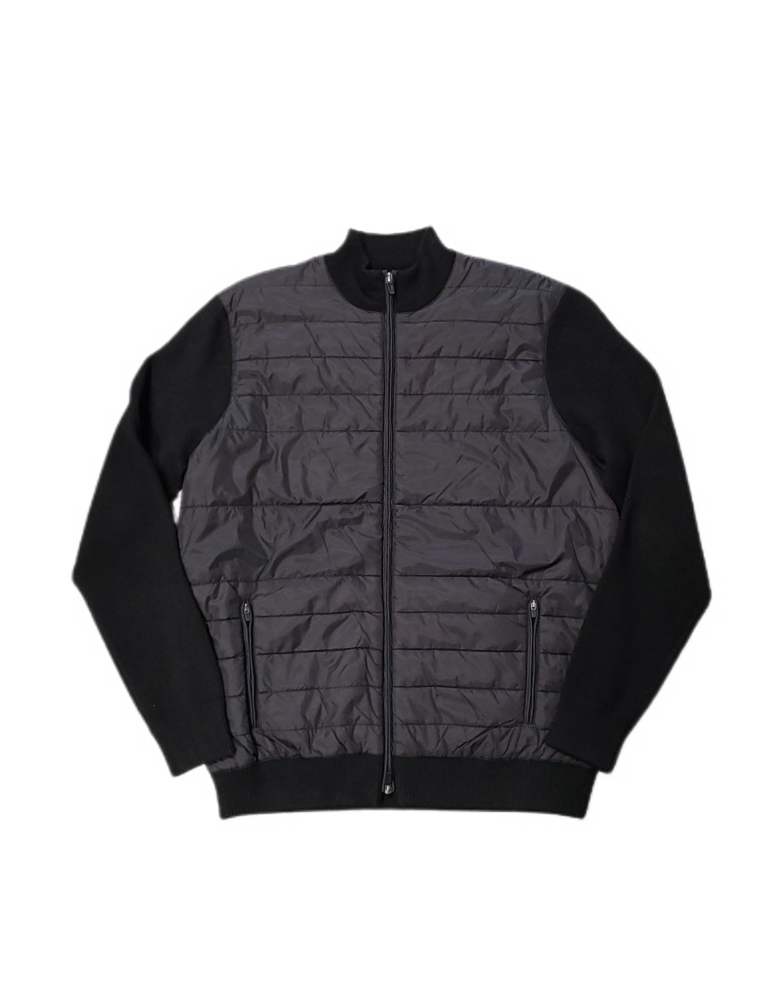 Nove9 N99Z07L Nove9 Mock Zip Sweater