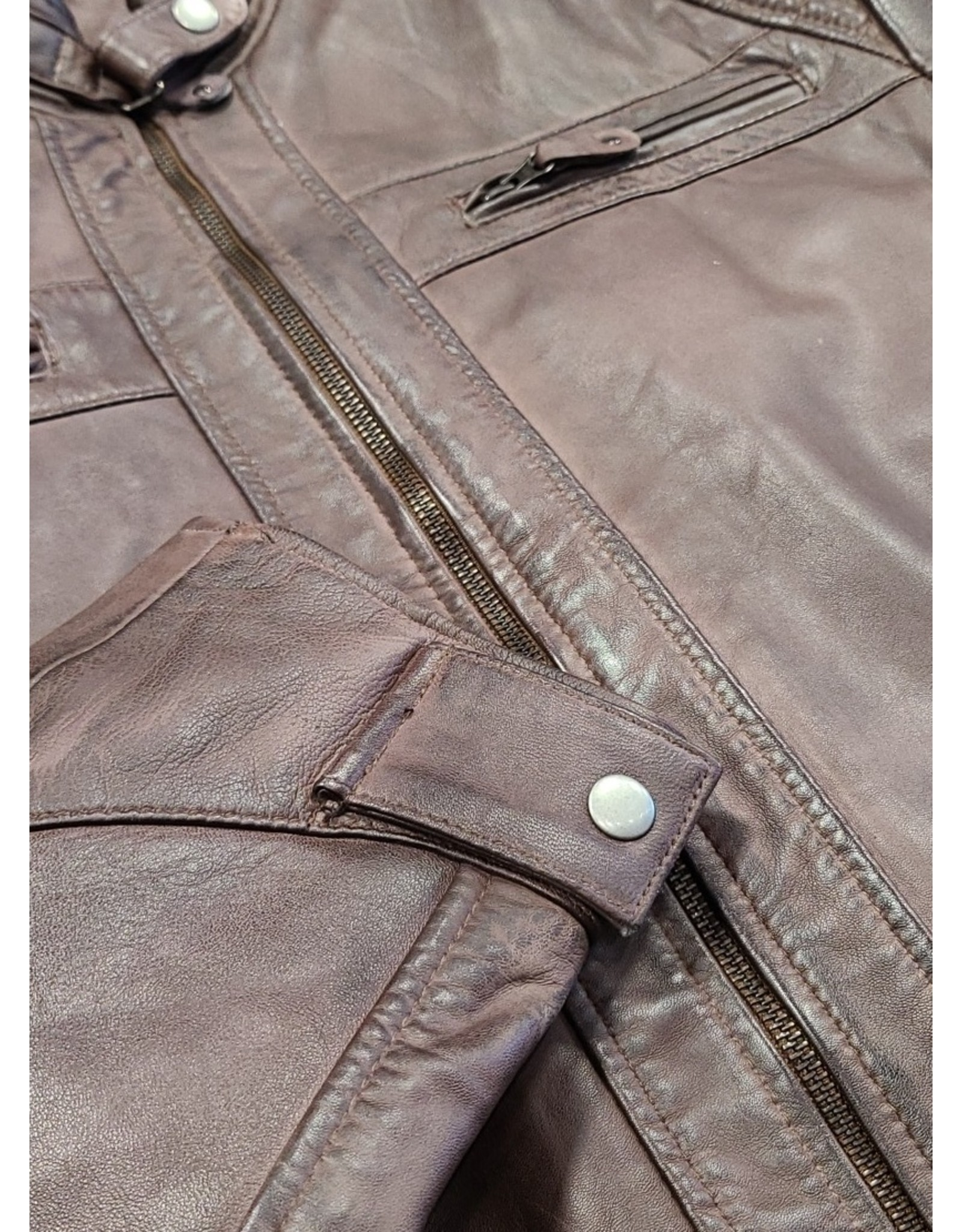 Ocean West Ocean West Leather Jacket 1009