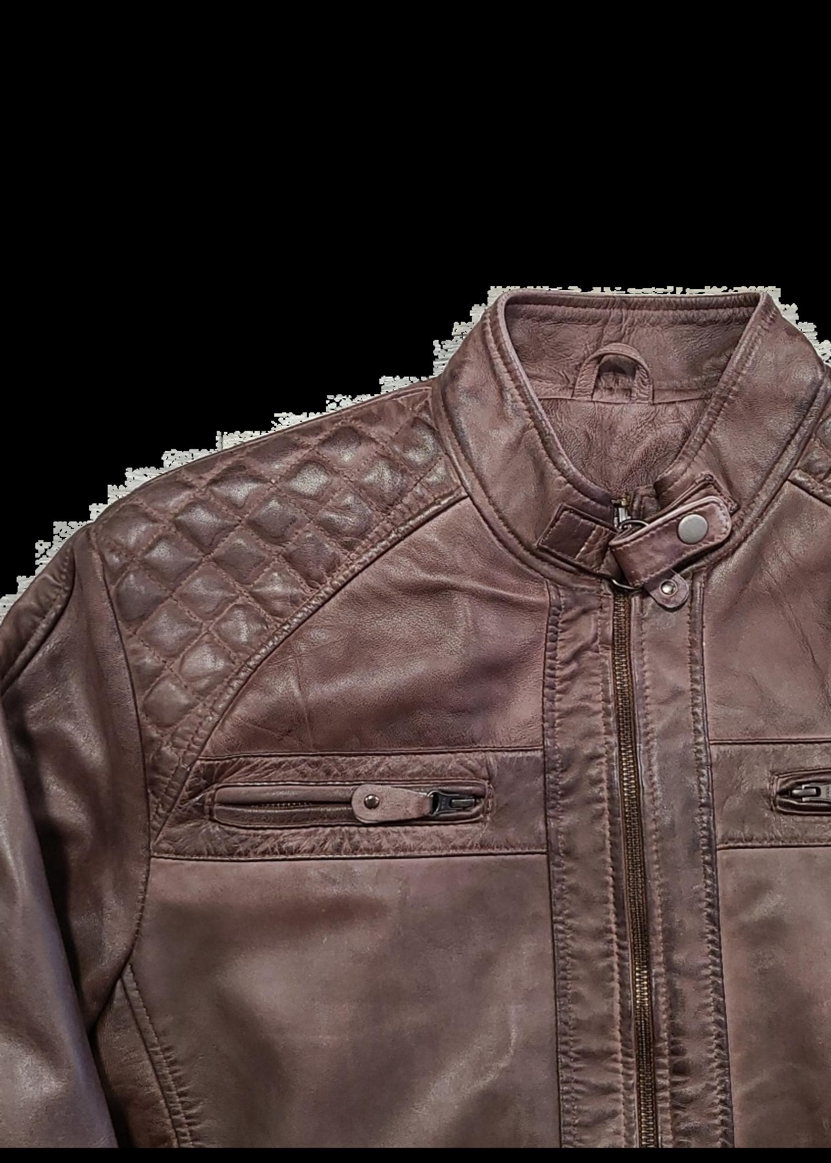 Ocean West Ocean West Leather Jacket 1009