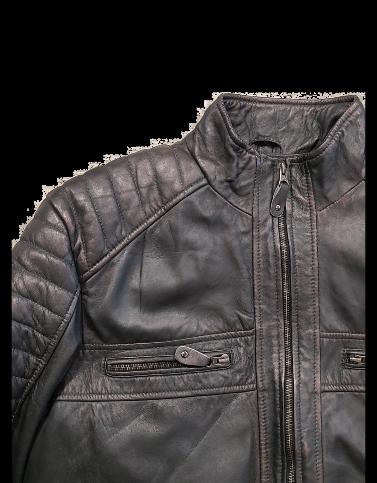 Ocean West Ocean West Leather Jacket 4015