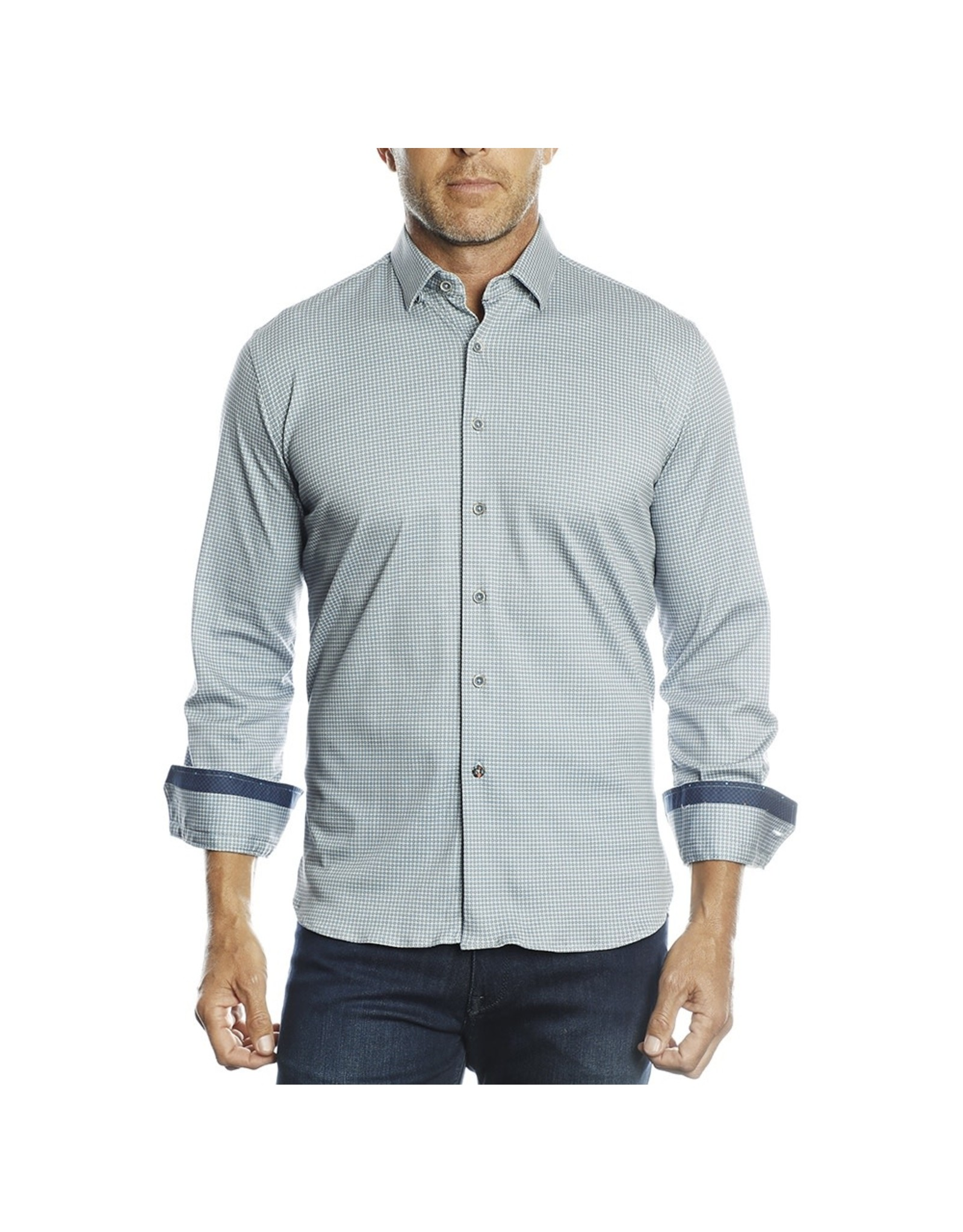 Luchiano Visconti 4326 Global Mint Shirt