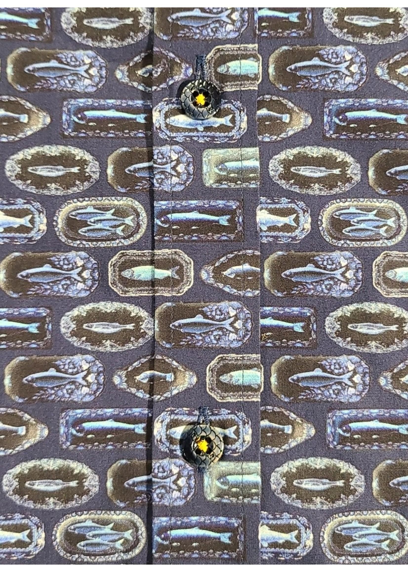 A Fish Named Fred 21.01.062 A Fish Named Fred Fish Mount Shirt