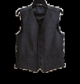 Blu Polifroni Blu Wool Vest