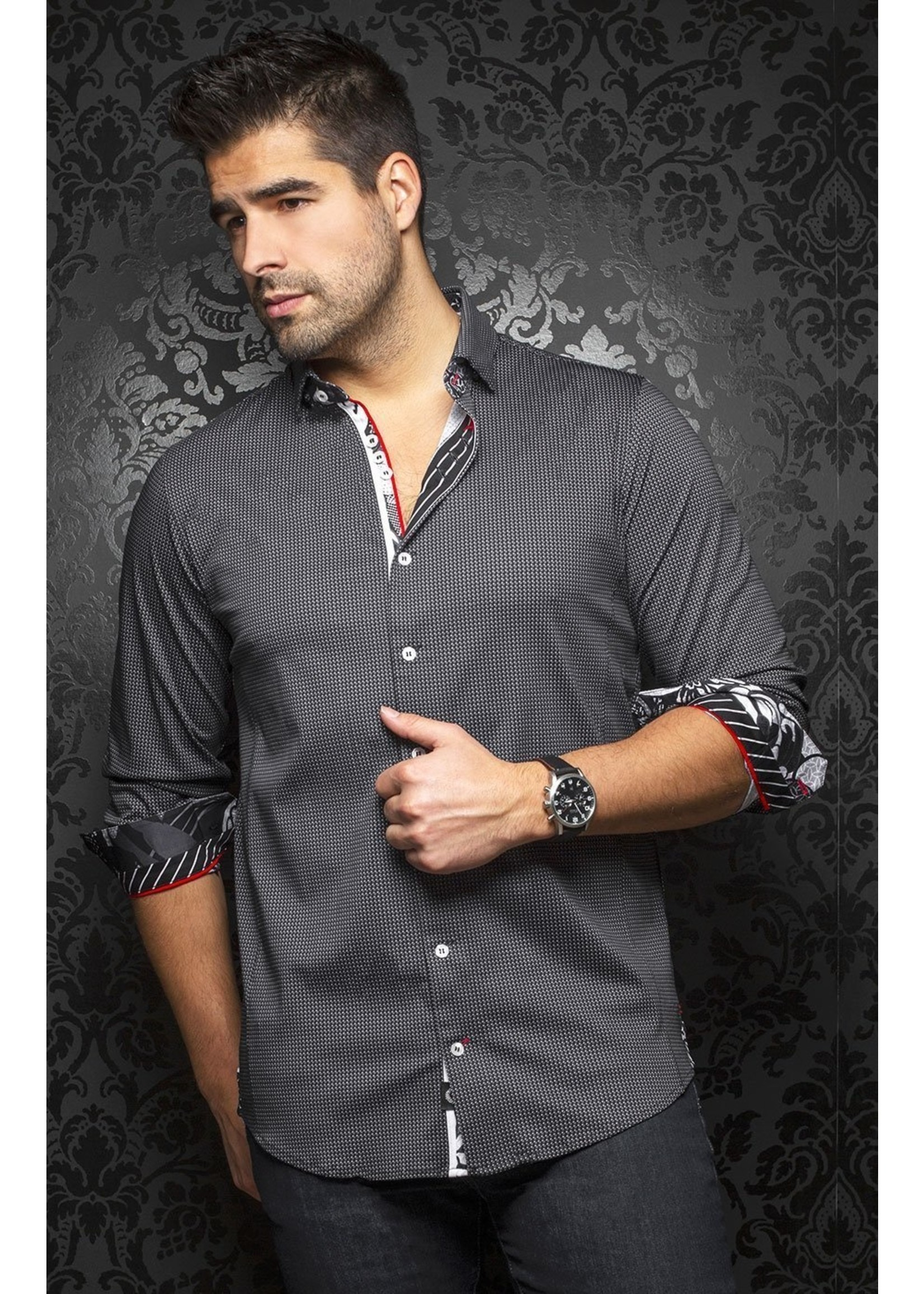 Au Noir Belotti Au Noir Stretch Shirt