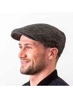 Hatman Of Ireland The Dubliner Cap Charcoal
