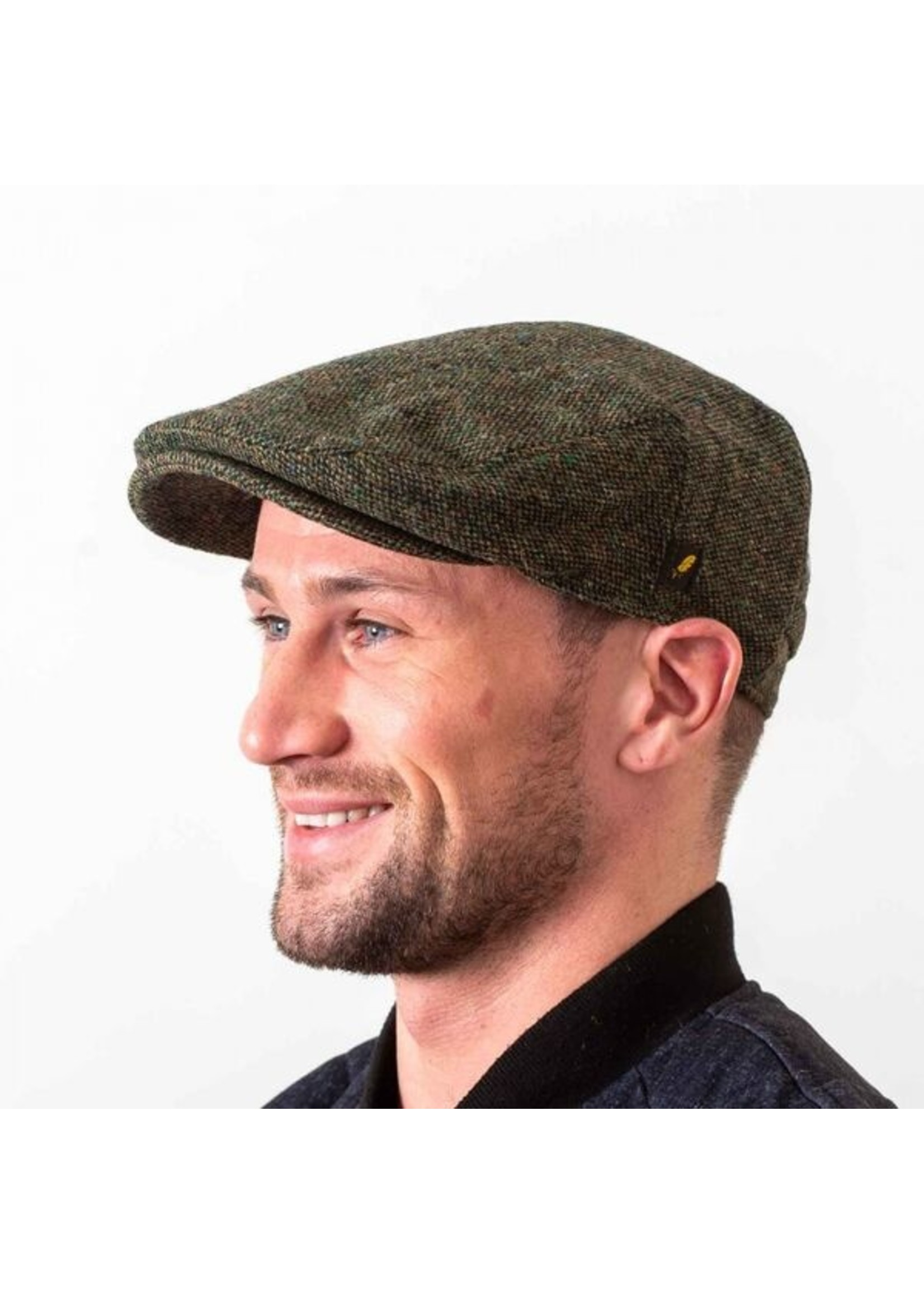 Hatman Of Ireland The Dubliner Cap Green
