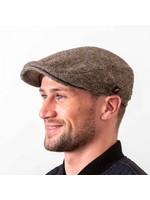 Hatman Of Ireland The Dubliner Cap Brown