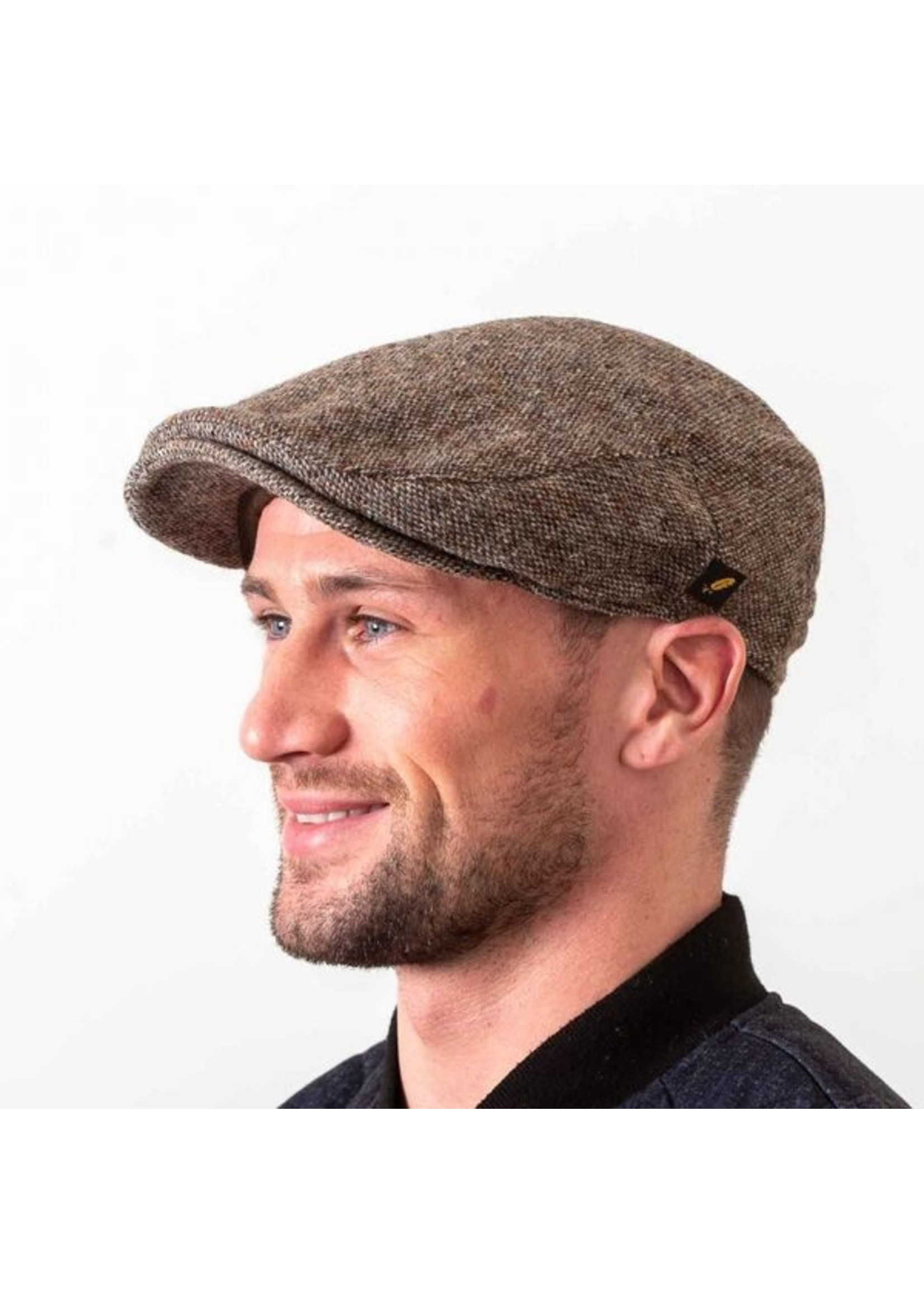 Hatman Of Ireland The Dubliner Cap Brown