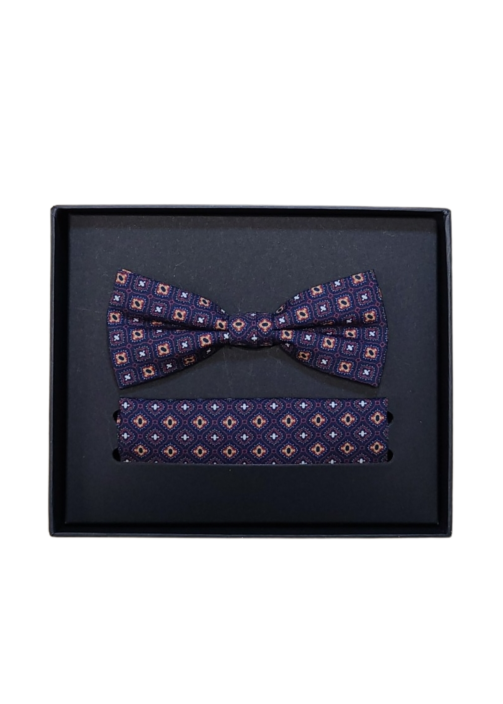 Venti Venti Bow Tie & Pocket Square 9187
