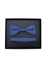 Venti Venti Bow Tie & Pocket Square 5428