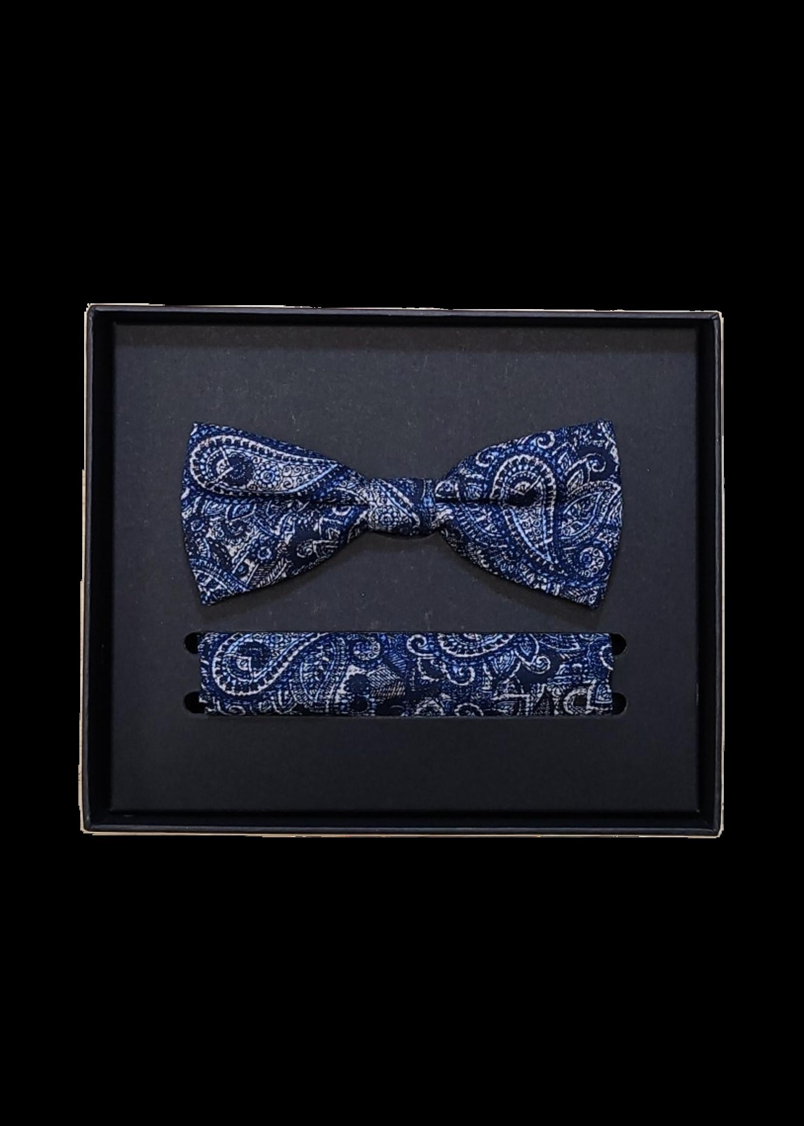 Venti Venti Bow Tie & Pocket Square 9163