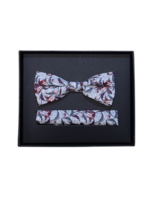 Venti Venti Bow Tie & Pocket Square 9194