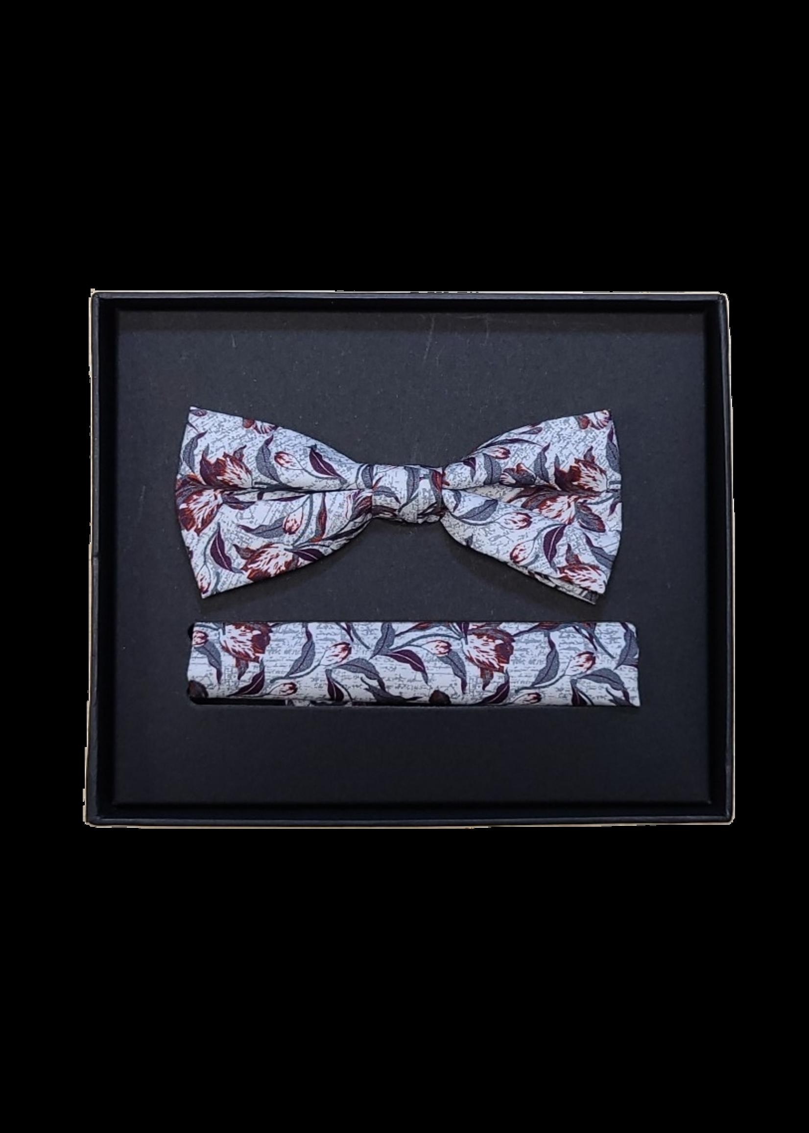 Venti Venti Bow Tie & Pocket Square 9194