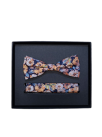 Venti Venti Bow Tie & Pocket Square 5459