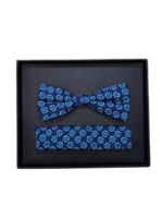 Venti Venti Bow Tie & Pocket Square 7569