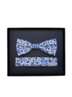 Venti Venti Bow Tie & Pocket Square 7545