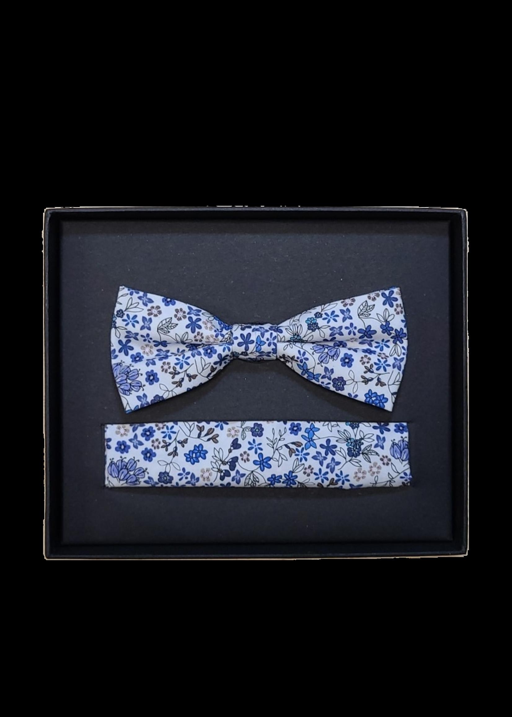 Venti Venti Bow Tie & Pocket Square 7545