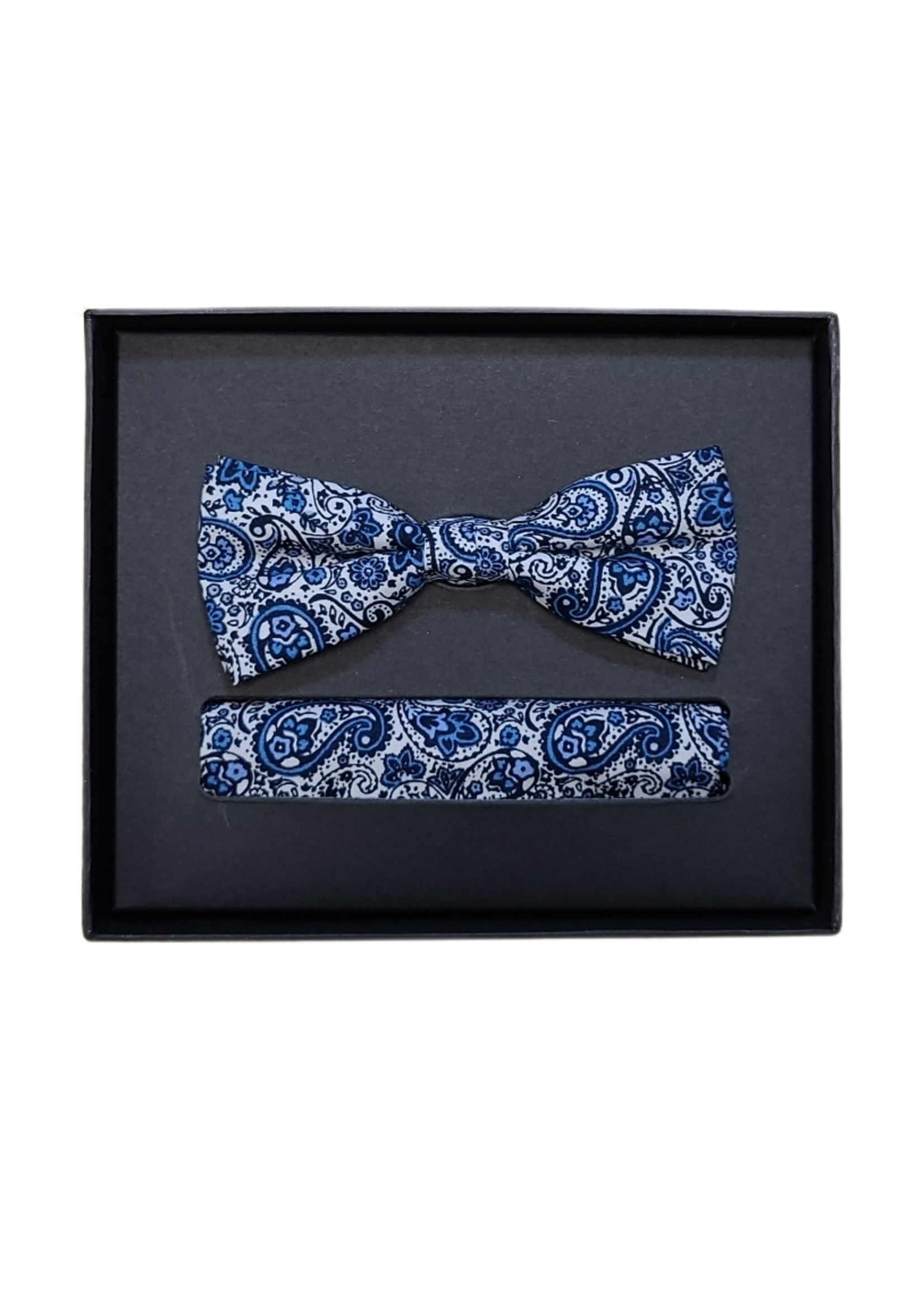 Venti Venti Bow Tie & Pocket Square 5398