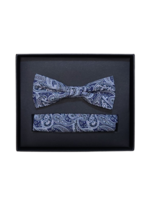 Venti Venti Bow Tie & Pocket Square 7552