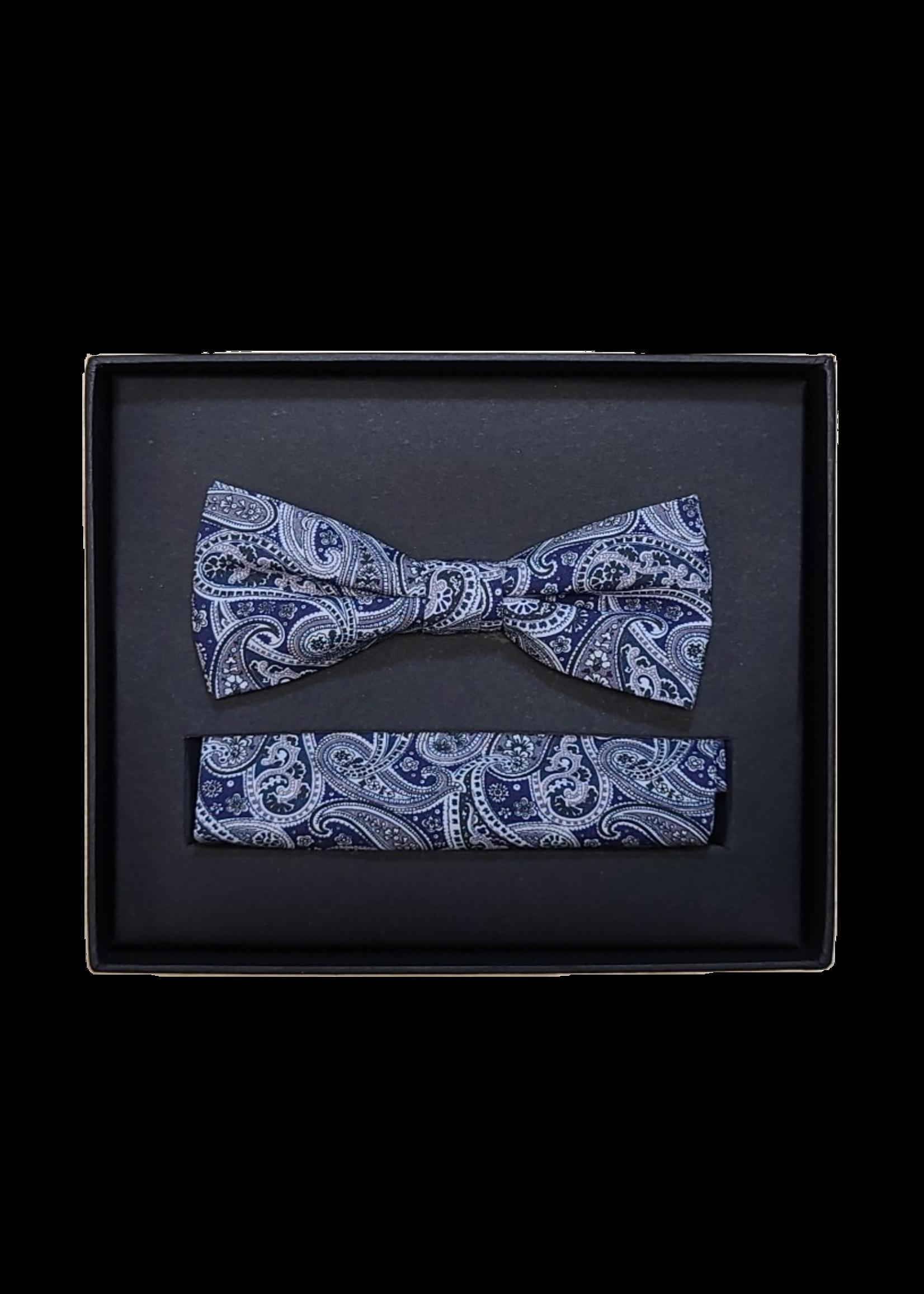 Venti Venti Bow Tie & Pocket Square 7552