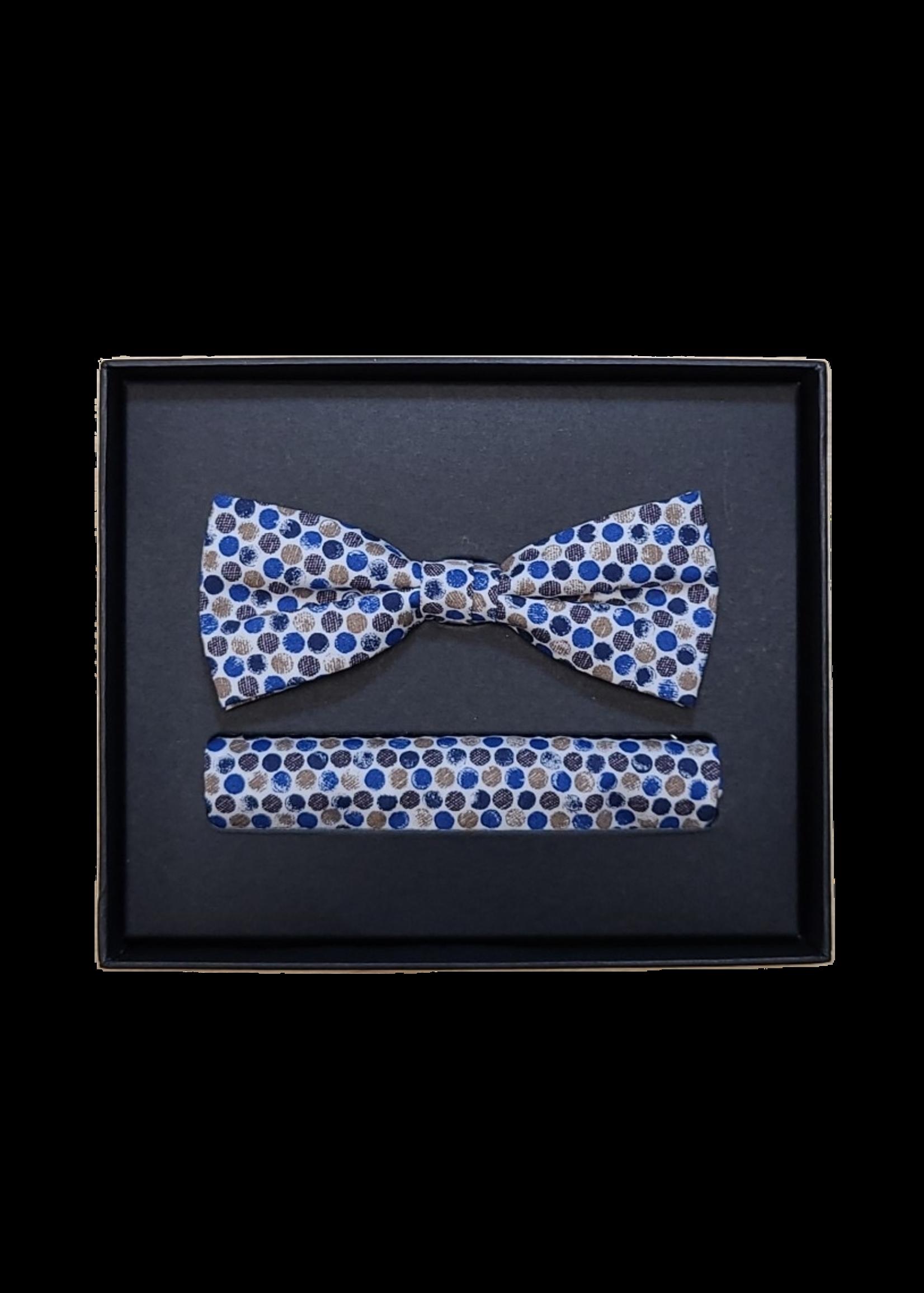 Venti Venti Bow Tie & Pocket Square 5442