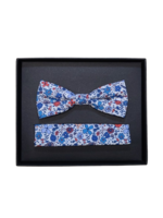 Venti Venti Bow Tie & Pocket Square 7576