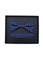 Venti Venti Bow Tie & Pocket Square 9149