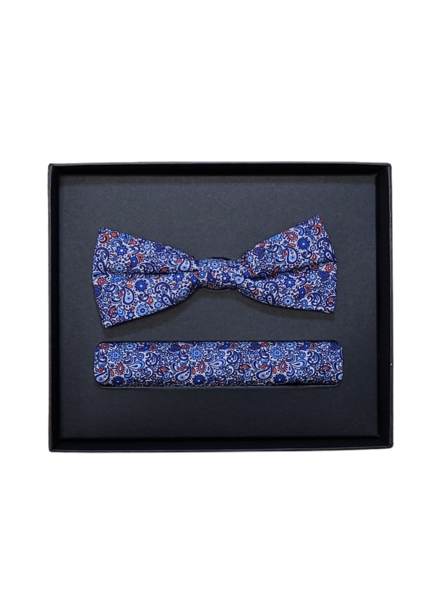 Venti Venti Bow Tie & Pocket Square 5411