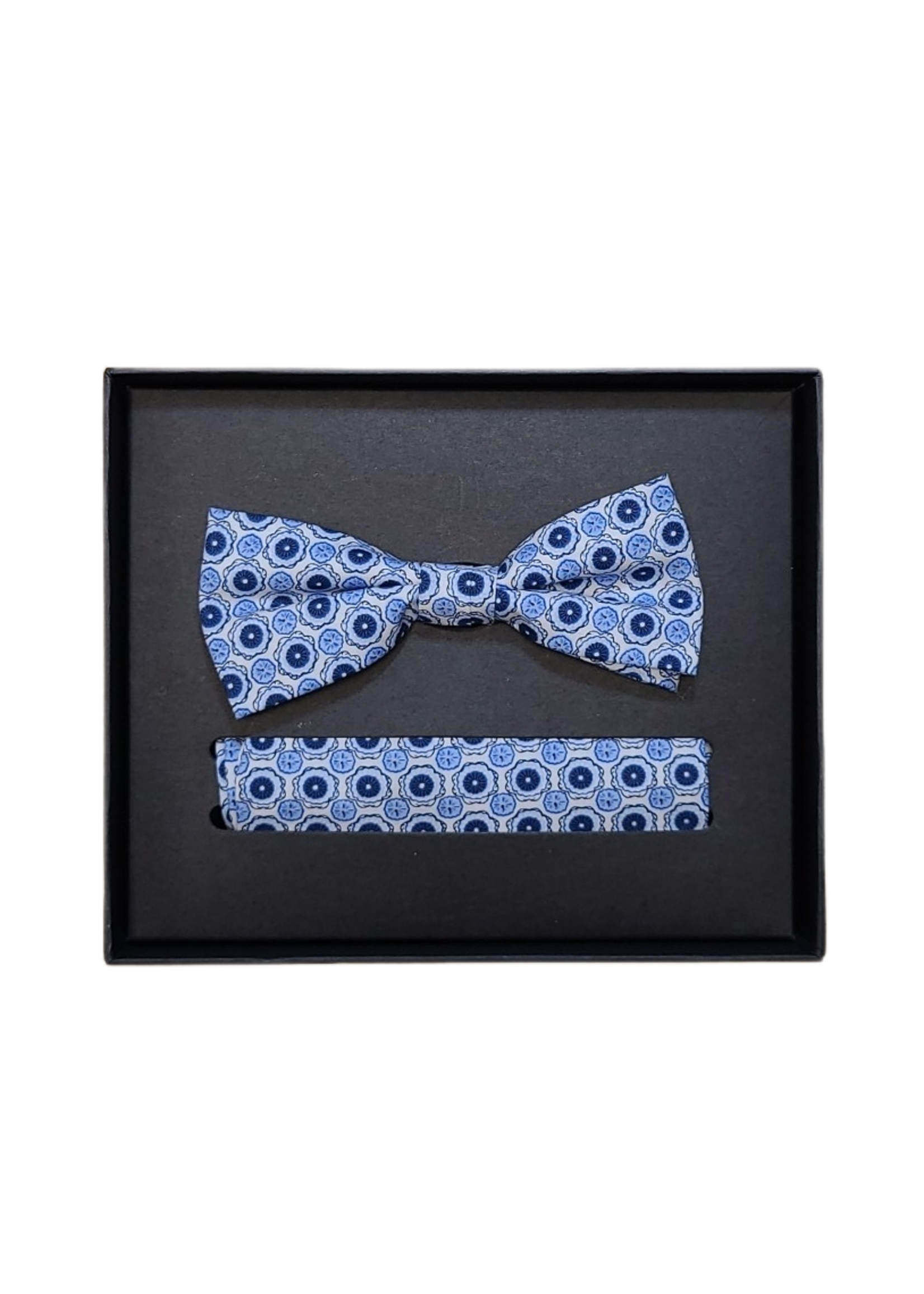 Venti Venti Bow Tie & Pocket Square 9156