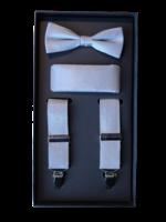 Venti Venti Suspender Set Silver