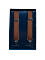 Bench Craft Leather Inc. 391 Suspenders - Cognac