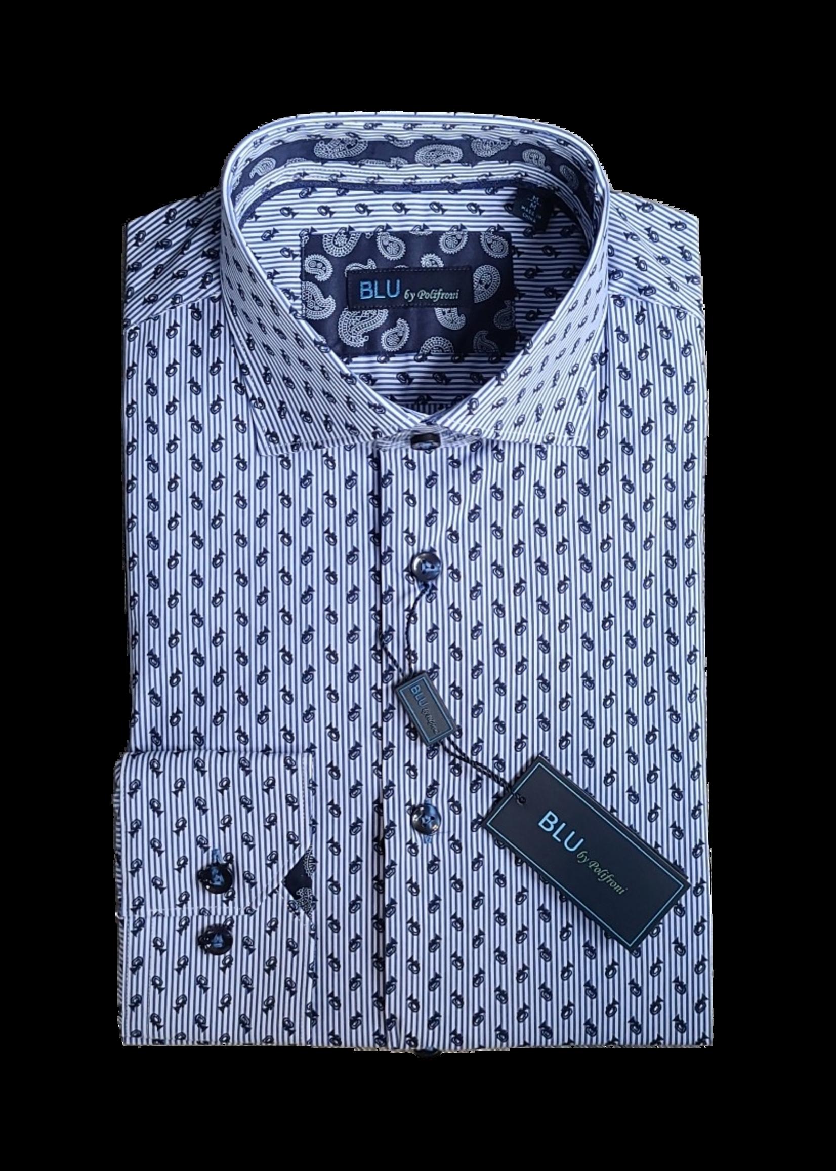 Blu Polifroni BLU B2149522 Shirt