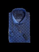 Blu Polifroni B-2045301 Blu Short Sleeve Shirt